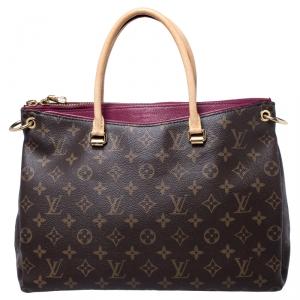 Louis Vuitton Cherry Monogram Canvas Pallas Bag