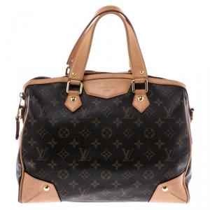 Louis Vuitton Brown Monogram Canvas Retiro PM Bag