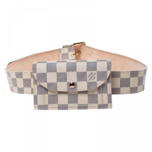 Louis Vuitton Damier Azur Pochette Solo Belt Bag