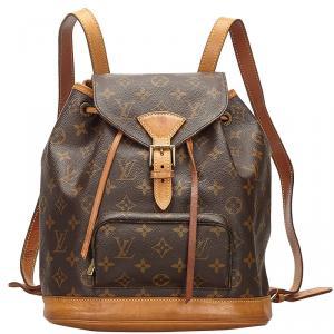 Louis Vuitton Monogram Canvas Montsouris Backpack MM