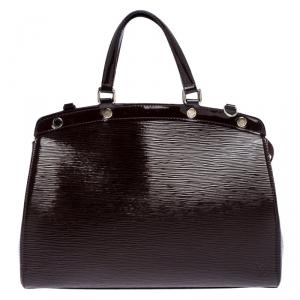 Louis Vuitton Burdeaux Electric Epi Leather Brea MM Bag