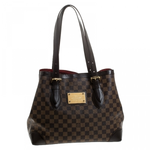 Louis Vuitton Damier Ebene Canvas Hampstead MM Bag