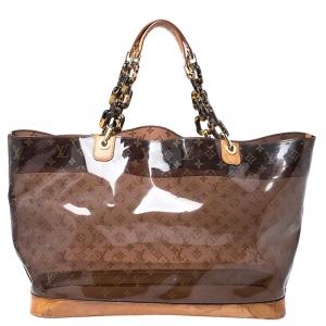 Louis Vuitton Monogram Vinyl Limited Edition Ambre Cruise Bag