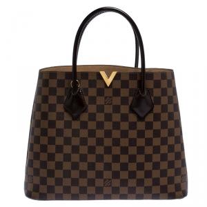 Louis Vuitton Damier Ebene Canvas Kensington V Bag