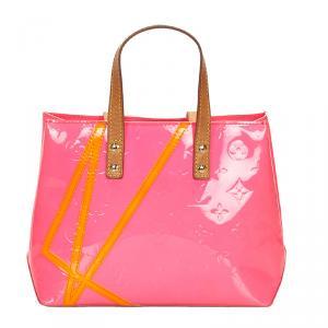 Louis Vuitton Pink Monogram Vernis Limited Edition Robert Wilson Reade PM Bag
