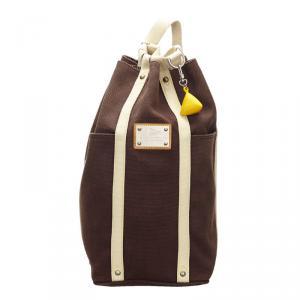 Louis Vuitton Brown Canvas Antigua LV Cup Randonnee Bag