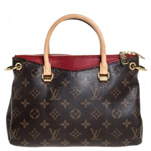 Louis Vuitton Cerise Monogram Canvas BB Pallas Bag