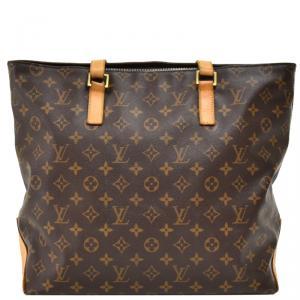 Louis Vuitton Monogram Canvas Cabas Mezzo Bag
