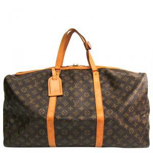 Louis Vuitton Monogram Canvas Sac Souple 55 Bag