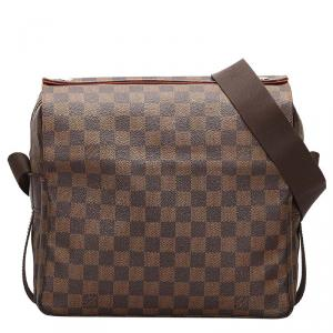 Louis Vuitton Damier Ebene Canvas Naviglio Messenger Bag