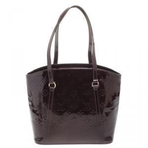 Louis Vuitton Amarante Monogram Vernis Avalon MM Bag