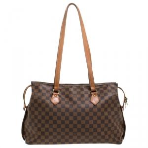 Louis Vuitton Damier Ebene Canvas Limited Edition Centenaire Chelsea Bag