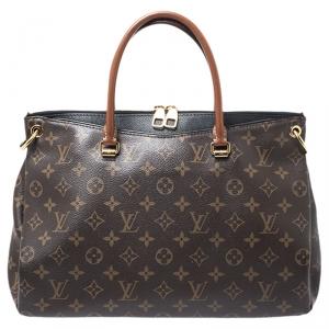 Louis Vuitton Black Monogram Canvas Pallas Bag
