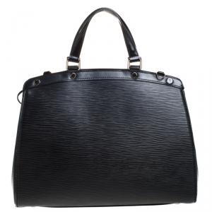 Louis Vuitton Black Epi Leather Brea GM Bag