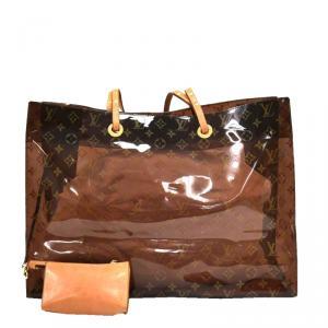 Louis Vuitton Monogram Vinyl Ambre Cruise Tote Bag