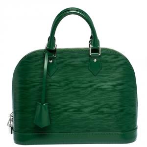 Louis Vuitton Menthe Epi Leather Alma PM Bag