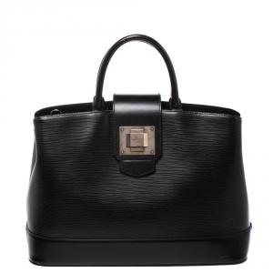 Louis Vuitton Black Epi Leather Mirabeau GM Bag