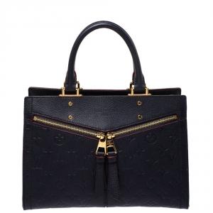 Louis Vuitton Marine Rouge Monogram Empreinte Leather Sully PM Bag