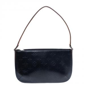 Louis Vuitton Bleu Monogram Mat Fowler Bag