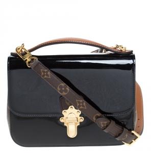 حقيبة لوي فيتون Cherrywood  كانفاس مونوغرامية وجلد فيرنيس سوداء BB