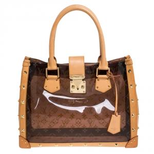 حقيبة لوي فيتون Ambre Neo مونوغرامية شفافة كاباس MM