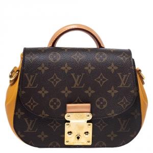Louis Vuitton Monogram Canvas Safran Eden PM Bag