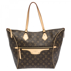 Louis Vuitton Monogram Canvas Tournelle MM Bag