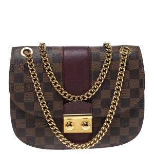 Louis Vuitton Damier Ebene Canvas Wight Bag