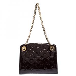 Louis Vuitton Amarante Monogram Vernis Virginia PM Bag