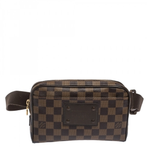 Louis Vuitton Damier Ebene Canvas Bum Brooklyn Waist Bag