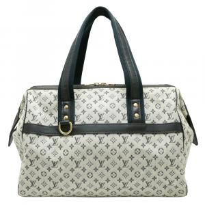 Louis Vuitton Blue Monogram Mini Canvas Josephine GM Bag