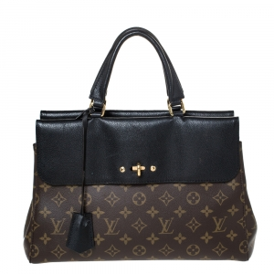 Louis Vuitton Black Monogram Canvas Venus Bag