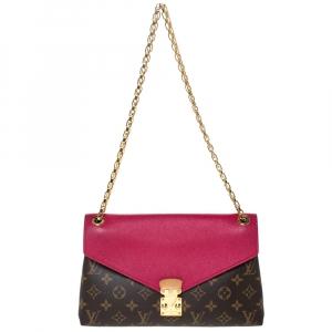 Louis Vuitton Cerise Monogram Canvas Pallas Chain Bag