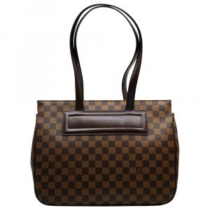Louis Vuitton Damier Ebene Canvas Parioli PM Bag