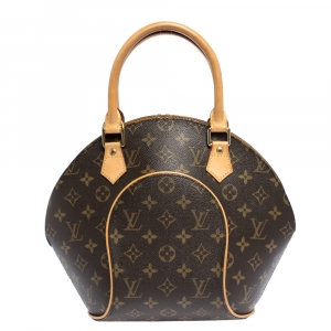Louis Vuitton Monogram Coated Canvas and Leather Ellipse PM Bag