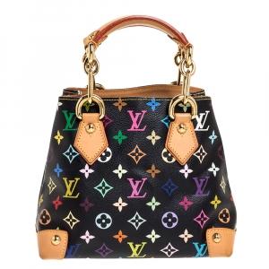 Louis Vuitton Black Multicolor Monogram Canvas Audra Bag