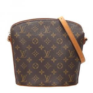Louis Vuitton  Canvas  Drouot Shoulder Bags