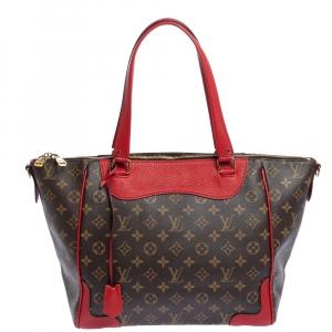 Louis Vuitton Coquelicot Monogram Canvas Estrela MM NM Bag