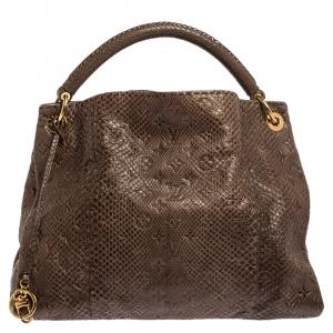 Louis Vuitton Ombre Python Monogram Empreinte Leather Artsy MM Bag