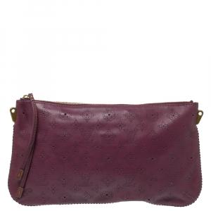Louis Vuitton Aubergine Mahina Leather Onatah Pochette Bag