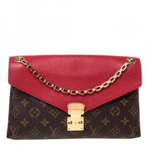 Louis Vuitton Monogram Canvas Pallas Chain Bag