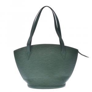 Louis Vuitton Borneo Green Epi Leather St Jacques PM Bag