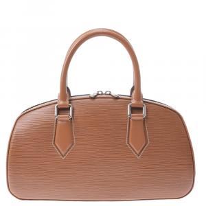 Louis Vuitton Brown Epi Leather Jasmin Bag