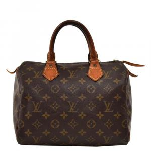 Louis Vuitton Monogram Canvas Speedy 25 City Bag