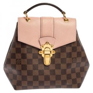 Louis Vuitton Magnolia Damier Ebene Canvas Clapton Backpack