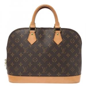 Louis Vuitton Monogram Canvas Alma PM Bag