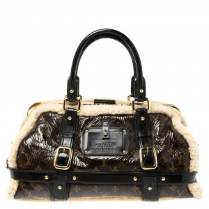 Louis Vuitton Monogram Limited Edition Shearling Thunder Bag