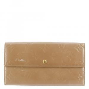 Louis Vuitton Brown Monogram Vernis Porte Tresor International Wallet