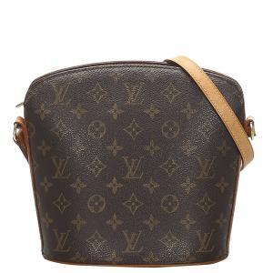 حقيبة لوي فيتون دروت كانفاس مونوغرامية