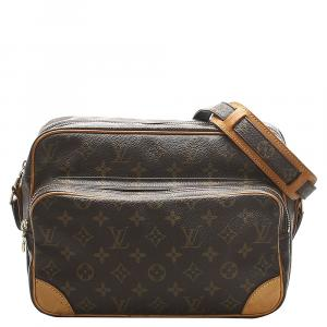 Louis Vuitton Monogram Canvas Nile bag
